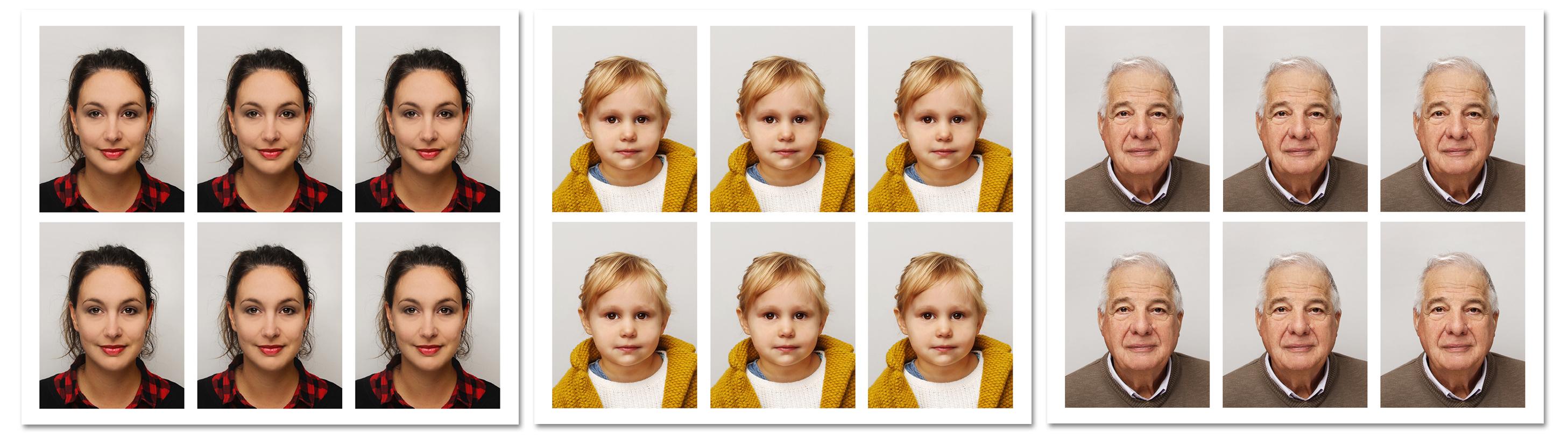 pasfoto's van Gerard van Hal Fotografie